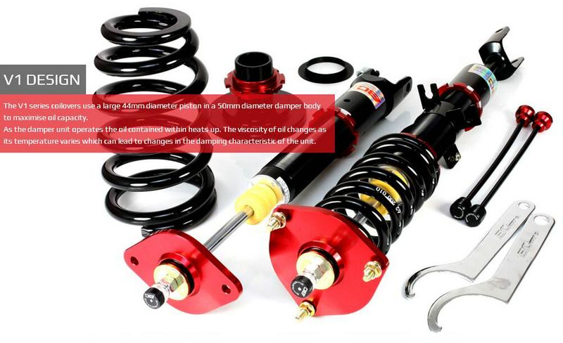 BC V1 Models VS Series  V1 Vs全长可调绞牙避震